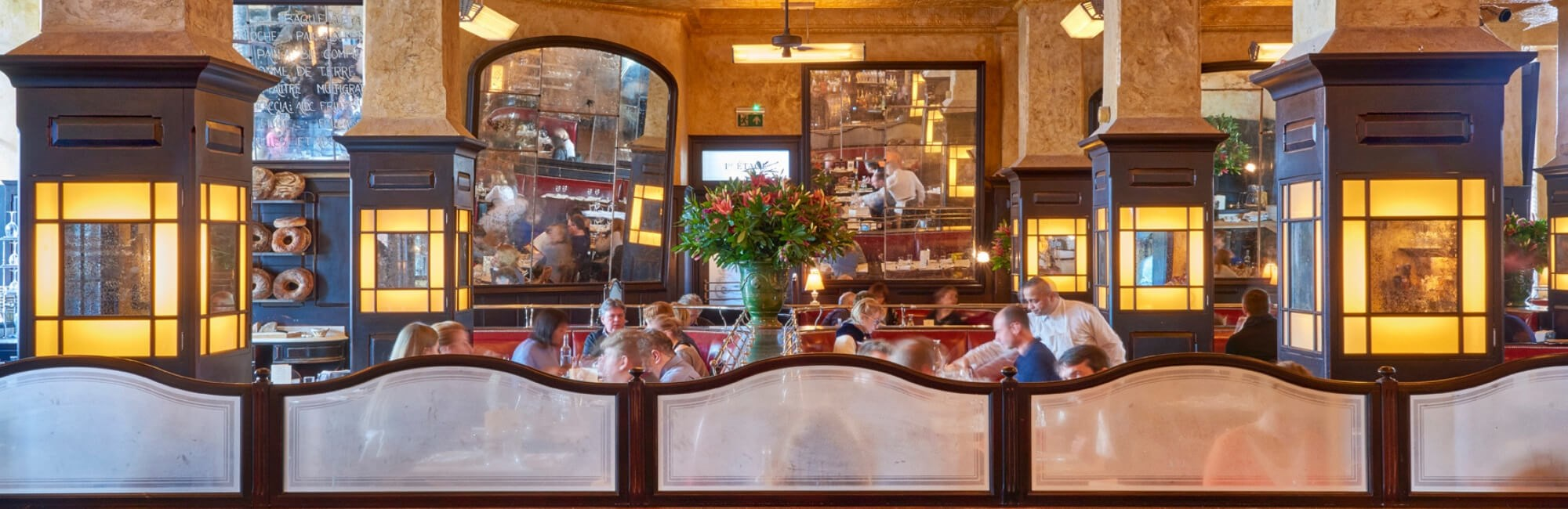 Balthazar is a restaurant in Covent Garden open all-day seven days a week