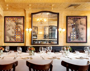 Small private dining room available for private parties in Covent Garden