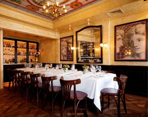 Small private dining room available for birthday parties in Covent Garden