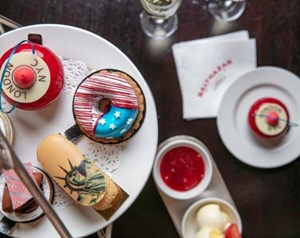 The NY Afternoon Tea at Balthazar in London, Covent Garden